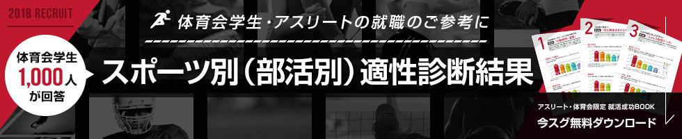スポーツ別(部活別)適性診断結果